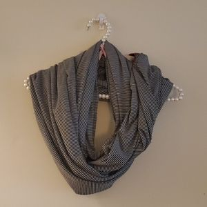 Buckle Daytrip Striped Infinity Scarf NWT